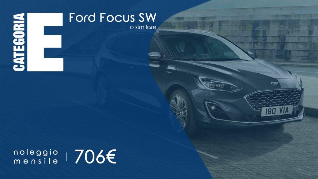 noleggio a medio termine ford focus